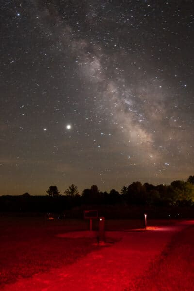 Milky Way over Cherry Springs State Park in Potter County PA