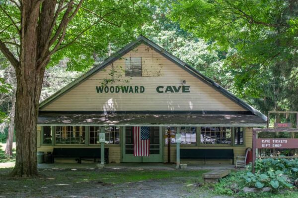 Building at Woodward Cave in Centre County Pennsylvania