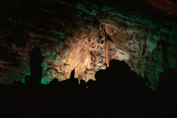 The Hall of Statues in Woodward Cave in Central Pennsylvania