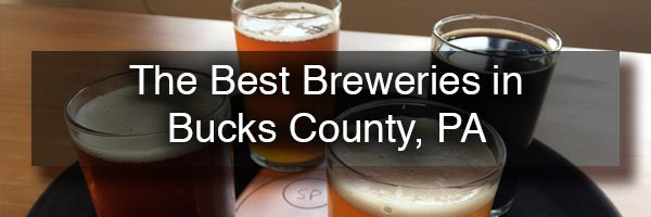 Three of the best Bucks County Breweries