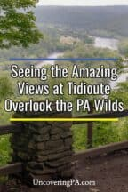 Tidioute Overlook in Warren County Pennsylvania