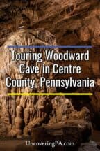 Touring Woodward Cave in Centre County, Pennsylvania