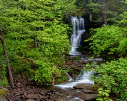 How to Get to Bowling Alley Falls in Bradford County, PA
