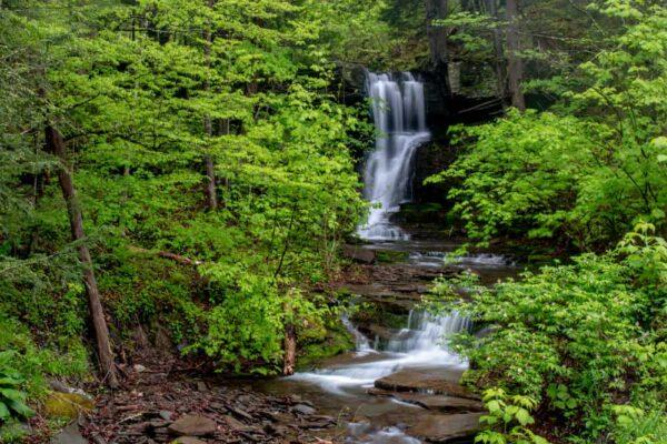 Bowling Alley Falls near Wyalusing, PA