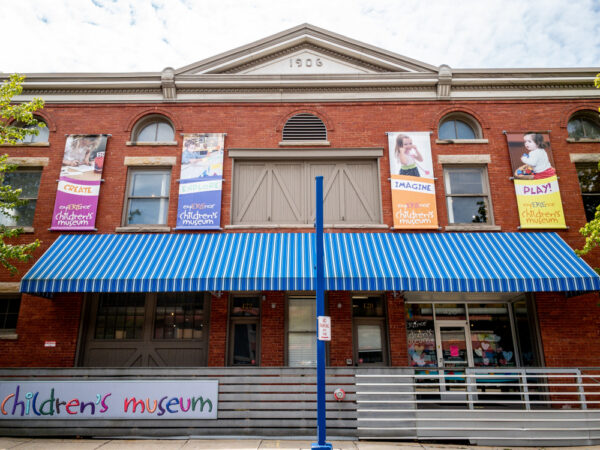 The exterior of the expERIEnce Children's Museum in Erie, Pennsylvania