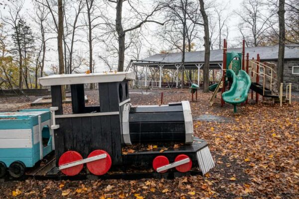 Playground at Indian Echo Caverns in Hummelstown Pennsylvania