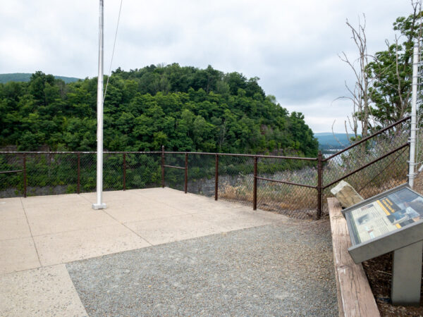 Tioga Reservoir Overlook in Tioga County Pennsylvania
