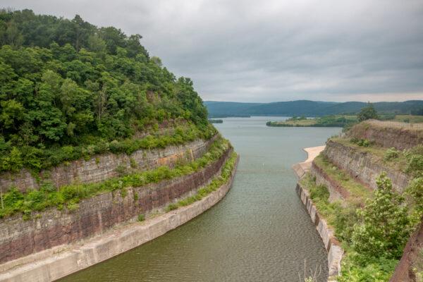 Tioga Reservoir Overlook in Tioga County PA