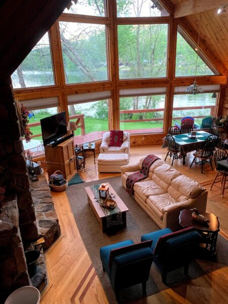 Allegheny River Chalet on Airbnb