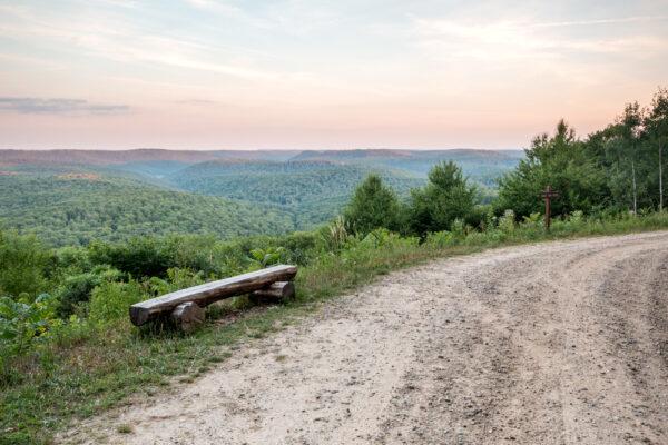 Boone Run Vista in Potter County Pennsylvania
