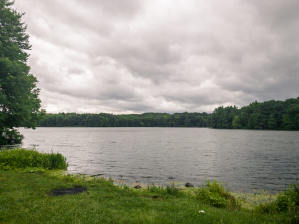 Lake Wilhelm in Maurice K. Goddard State Park in Mercer County PA