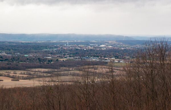 State College from Jo Hays Vista in PA
