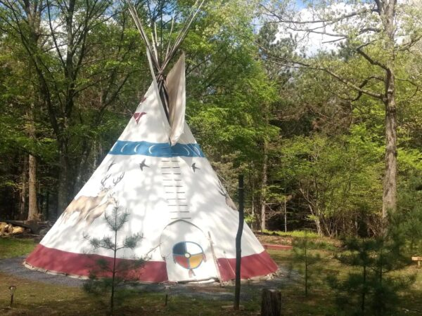 Airbnb Teepee near the Quehanna Wild Area