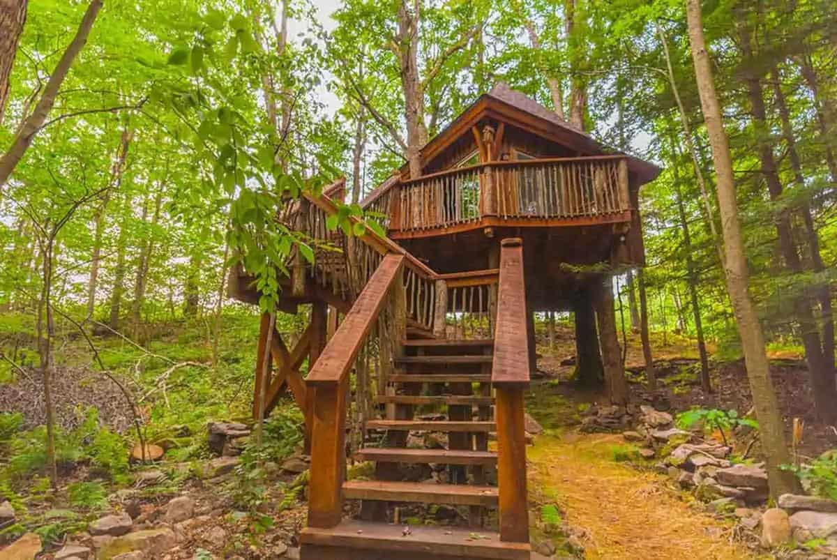 Treehouse Airbnb near Ohiopyle PA