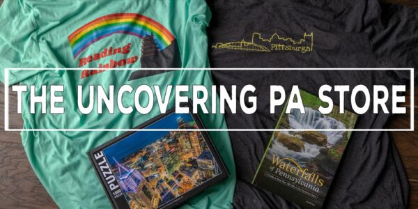 The Uncovering PA Store Pennsylvania T Shirts and other products