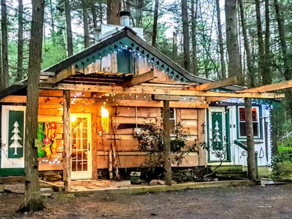 Bohemian cabin on airbnb near State College