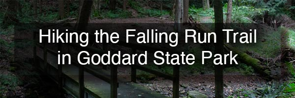 Falling Run Nature Trail in Goddard State Park