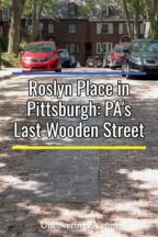 Roslyn Street in Pittsburgh PA