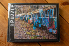 Abandoned Trolley Graveyard Puzzle