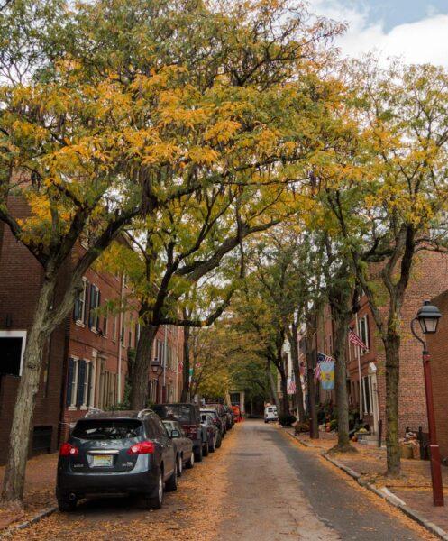 Fall in Philadelphia's Old City