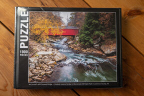 McConnells Mill Covered Bridge Puzzle