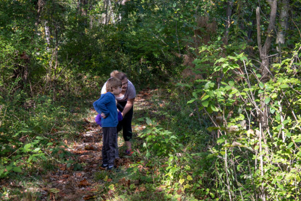 Hiking at Nolde Forest in Berks County Pennsylvania
