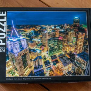 Pittsburgh from Above 1000-Piece Puzzle