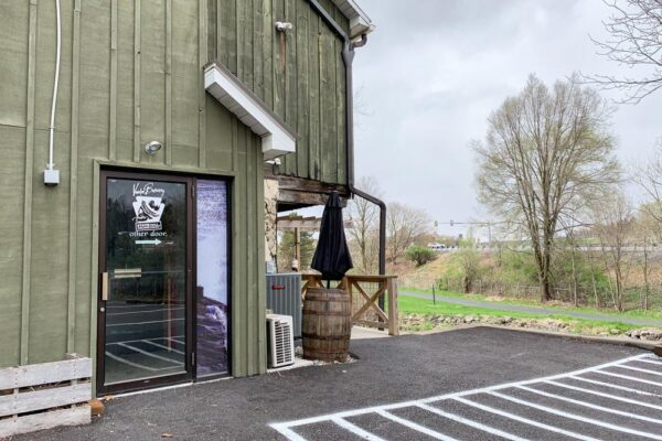 Entrance to Voodoo Brewery in State College PA