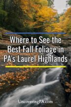 Fall Foliage in the Laurel Highlands of Pennsylvania