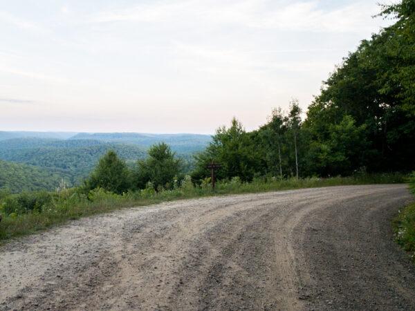 Boone Run Vista in Tioga State Forest in the Pennsylvania Wilds