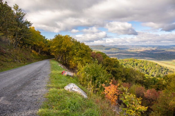 Colerain Road Overlook in Huntingdon County Pennsylvania