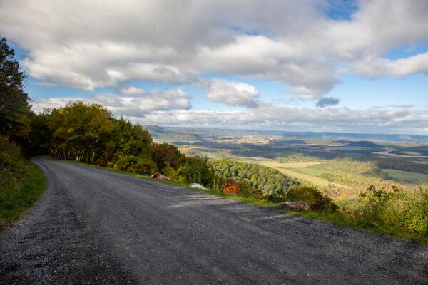 Colerain Road Overlook near Huntingdon Pennsylvania