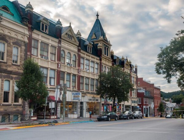 Historic buildings in Bellefonte Pennsylvania