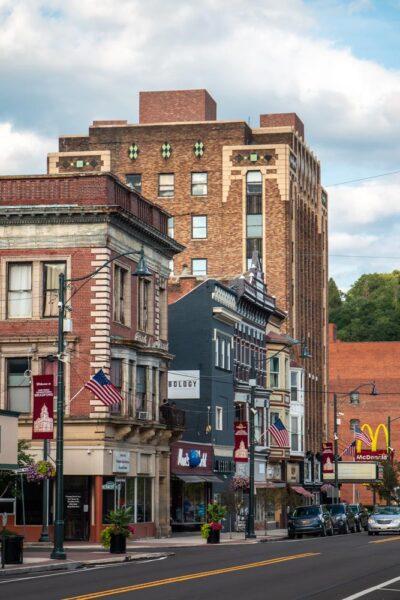 Downtown Bradford Pennsylvania