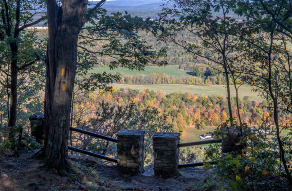 Indian Lookout in Rothrock State Forest in Huntingdon County PA