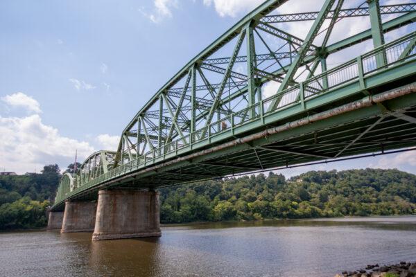 Allegheny River in Kittanning, Pennsylvania