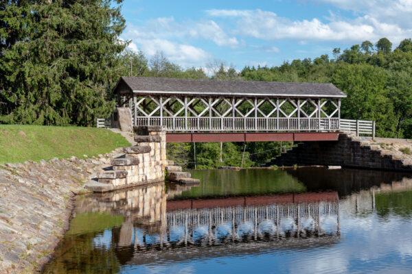 Marilla Covered Bridge in McKean County Pennsylvania