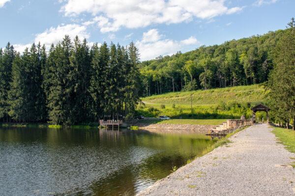 Marilla Bridges Trail in McKean County Pennsylvania