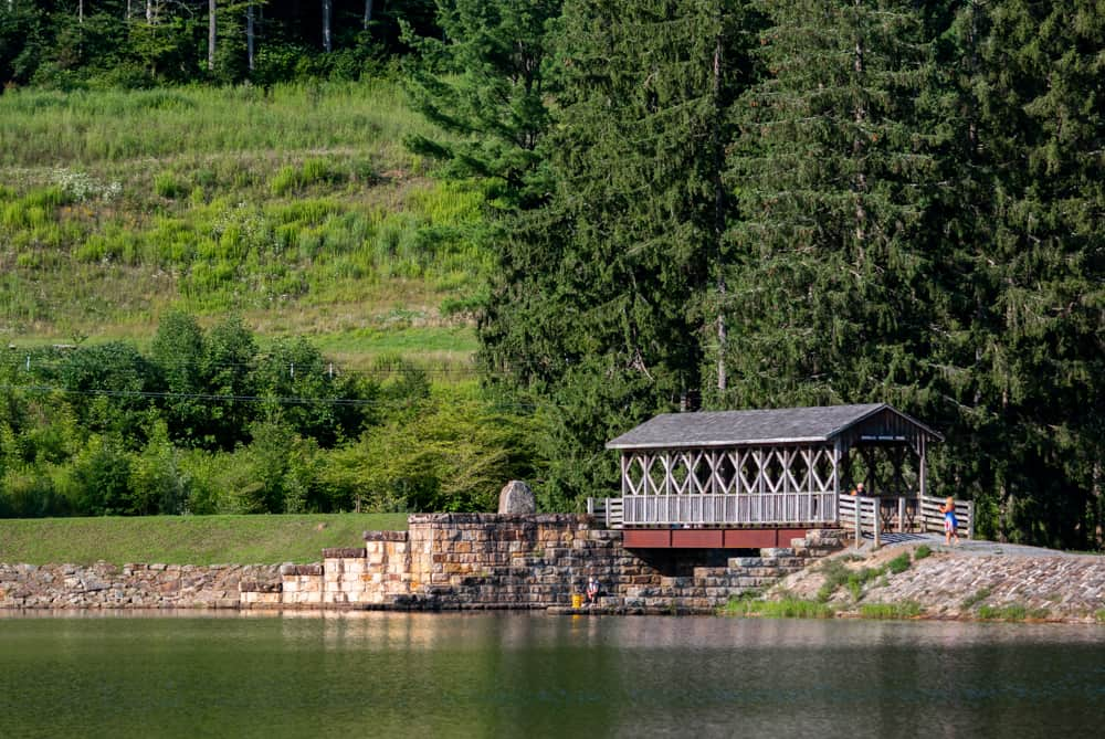 Covered Bridge on the Marilla Bridges Trail
