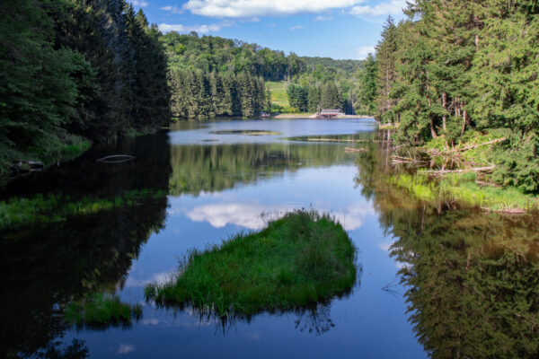 Marilla Reservoir near Bradford PA