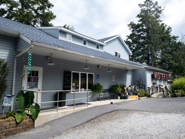 The exterior of Mr. Ed's Elephant Museum in Orrtanna, PA