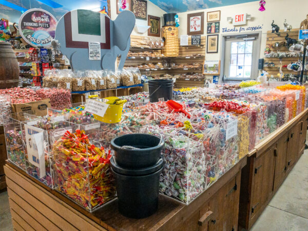 Candy at Mr. Ed's Elephant Museum in Adams County PA