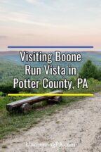 Boone Run Vista in Potter County, Pennsylvania