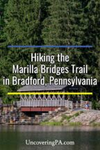 Marilla Bridges Trail in Bradford Pennsylvania