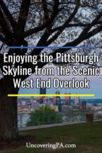 West End Overlook in Pittsburgh Pennsylvania