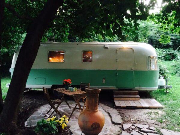 Airstream Airbnb in Philadelphia