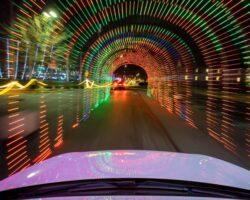 Driving Through a Festive Wonderland at Lancaster's Christmas Spirit Light Show