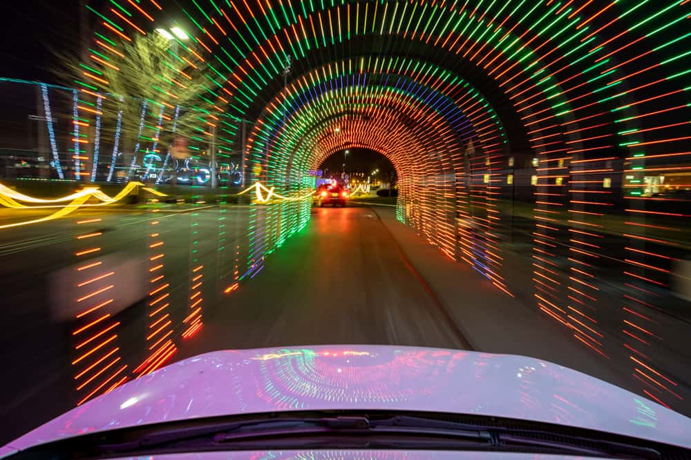 Drive Through Christmas Spirit Light Show in Lancaster PA