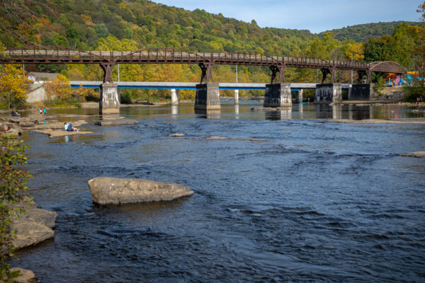 The Youghiogheny River in Ohiopyle PA from Ferncliff Peninsula