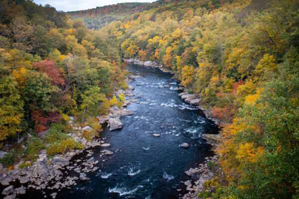 Youghiogheny River in Ohiopyle State Park